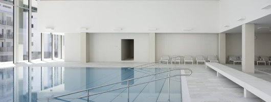 Ovaverva Indoor Swimming Pool in St. Moritz