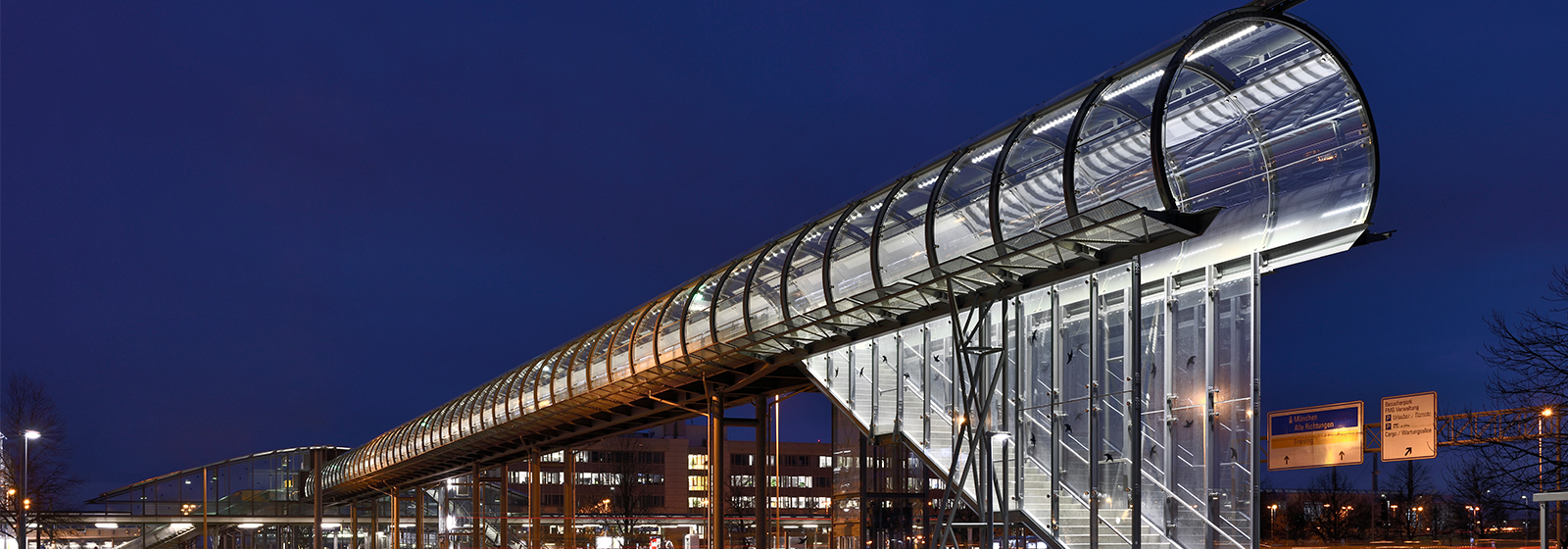 Pedestrian Bridge, Munich Airport