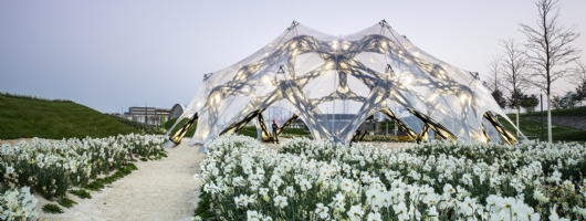 THE AWARD-WINNING BUGA FIBER PAVILION