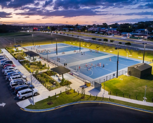 BILL BROWN RESERVE, AUS — NETBALL FACILITIES 1