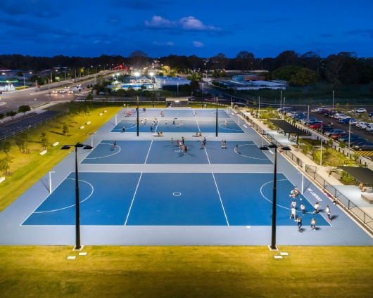 BILL BROWN RESERVE, AUS — NETBALL FACILITIES 4