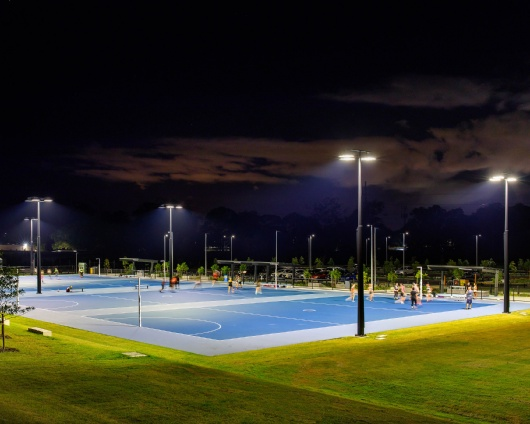 BILL BROWN RESERVE, AUS — NETBALL FACILITIES 2