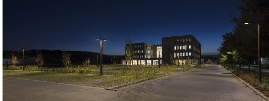 Jyske Bank Denmark : area lighting - azcodes.com