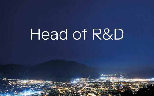 Head of R&D