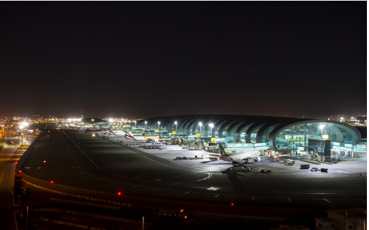 Dubai International Airport x ewo 1,000 high-power floodlights