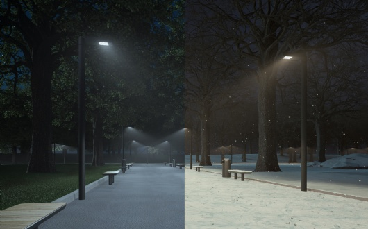 INTELLIGENT LIGHTING CONTROL: DYNAMIC SUMMER AND WINTER SCENARIOS