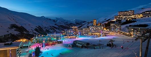Station de Ski Les Menuires